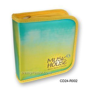 3d Lenticular CD Wallet/ Case - 24 Cd's (Stock)