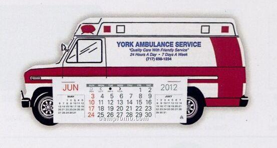 Ambulance Standard Truck Calendar (After 05/01/11)