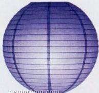 Chinese Lantern With Parallel Ribbing