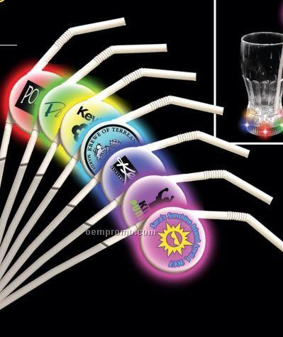 Light Up LED 7-color Straw