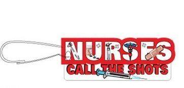 Nursing Slogan Zipper Pull