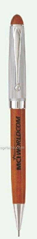 Silverwood Rosewood & 2 Tone Silver Mechanical Pencil