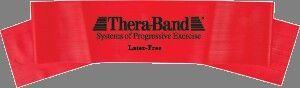 Thera-band 5' Latex Free Exercise Band, Medium