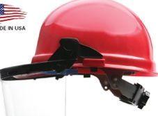 15161 Plastic Face Shield Carrier/ Visor Attachment