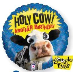 """21"""" Holy Cow Another Birthday Balloon"""