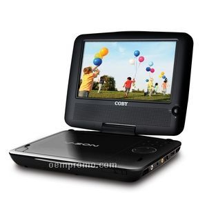 "7"" Portable DVD / CD / Mp3 Player W/Swivel Screen"