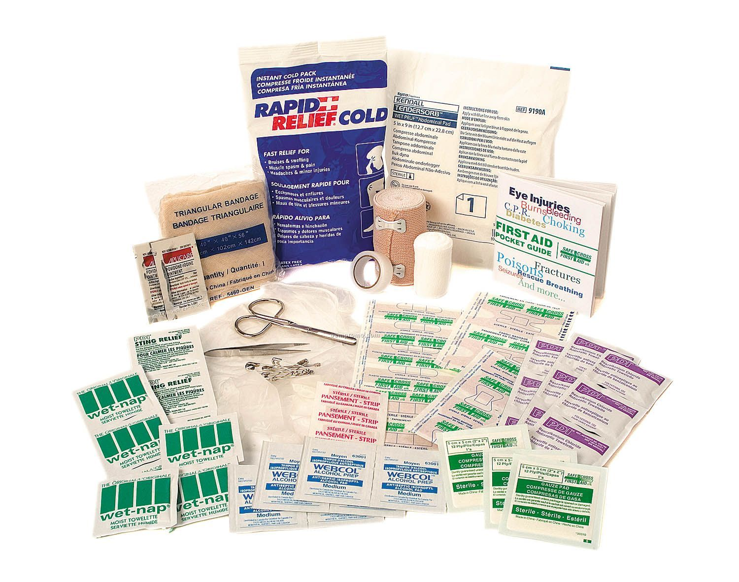 74 PC First Aid Kit (Blank Only)