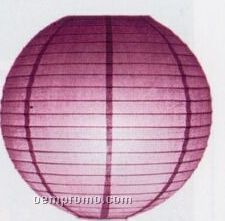 Chinese Lantern With Parallel Ribbing