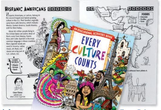 Every Culture Counts Coloring Book