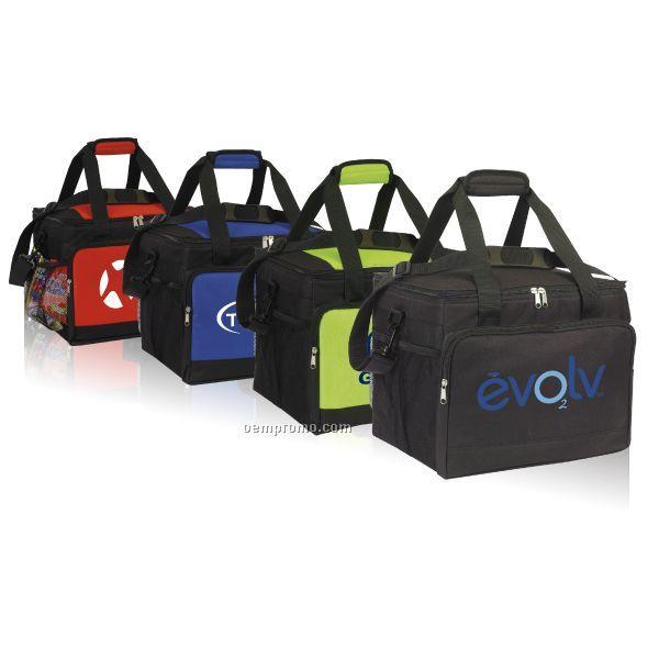 Jumbo Cooler W/ Adjustable Shoulder Strap