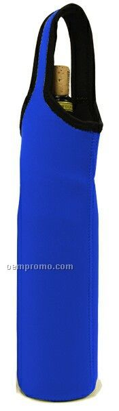 Royal Blue Neoprene Bottle Sleeve - Single