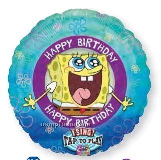 "28"" Singing Sponge Bob Square Pants Balloon"