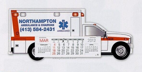 Emergency Squad Ambulance Standard Truck Calendar (By 05/01/11)