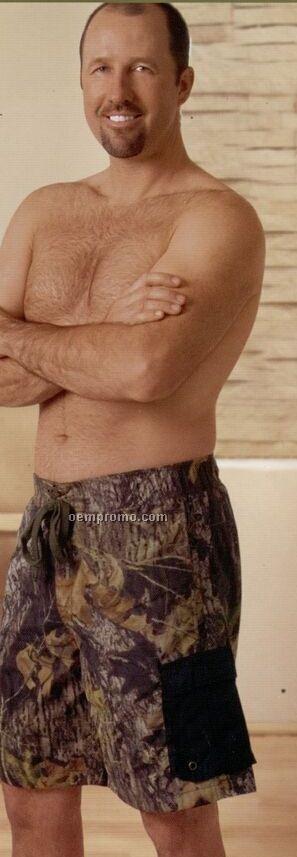 Men's Camouflage Cargo Board Shorts