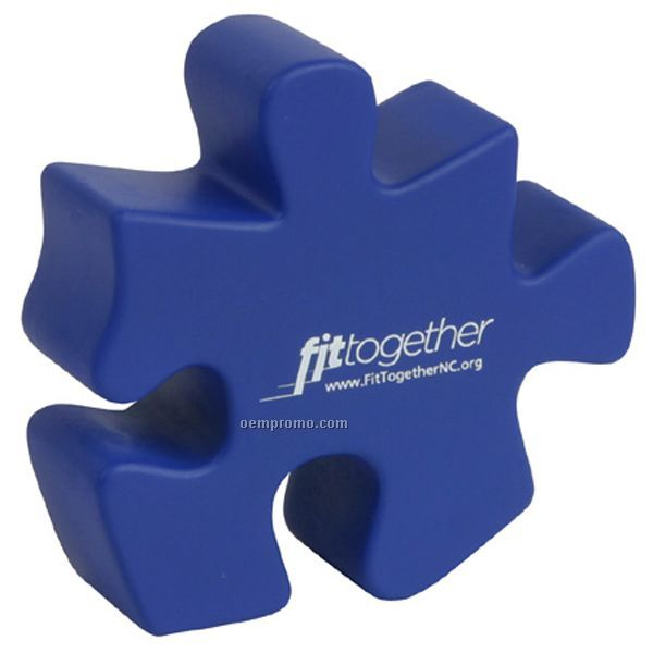Puzzle Piece Squeeze Toy