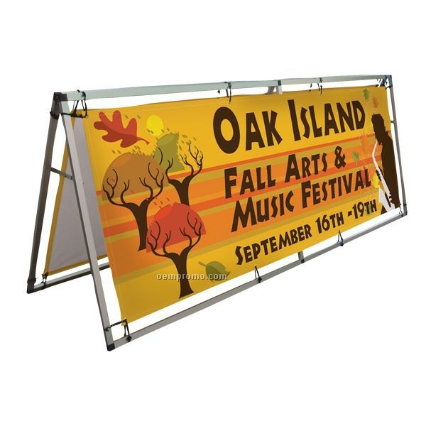 A Frame Pro Outdoor Signage Display Kit / 8'