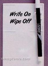 "Adgrabbers Write On/ Wipe Off Memo Board (3""X5 1/4"")"