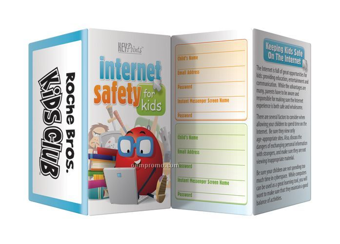 safety printable brochures for kids