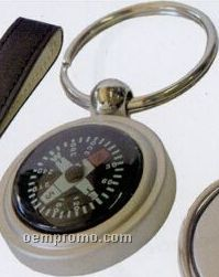 Metal Key Tag /With Compasses