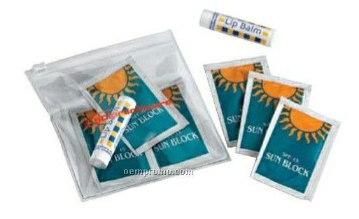 Poodle Sun Kit With Sunscreen & Lip Balm