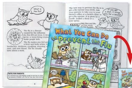 What You Can Do To Prevent The Flu Bilingual Flip-style Book