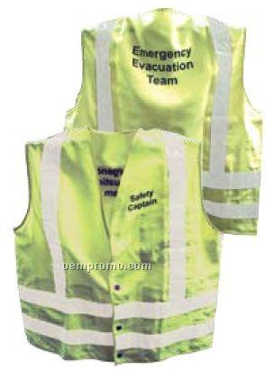 Ansi Class II Safety Vest Rx - Orange (X-large)