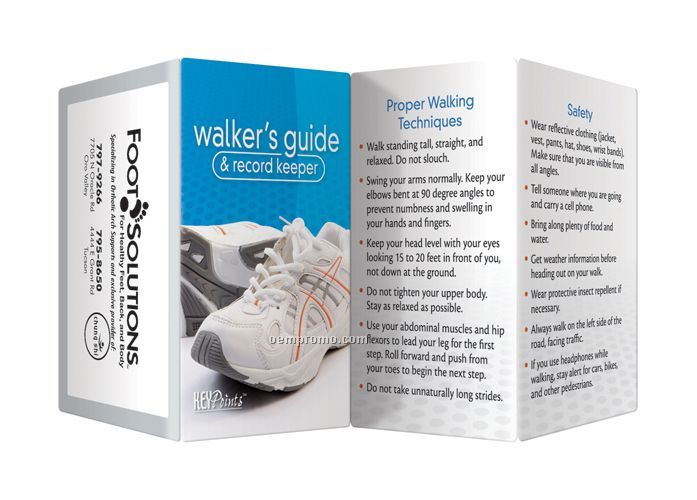 Key Point Brochure - Walker's Guide And Record Keeper