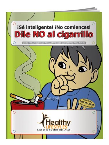Coloring Book - Say No To Smoking(Spanish)