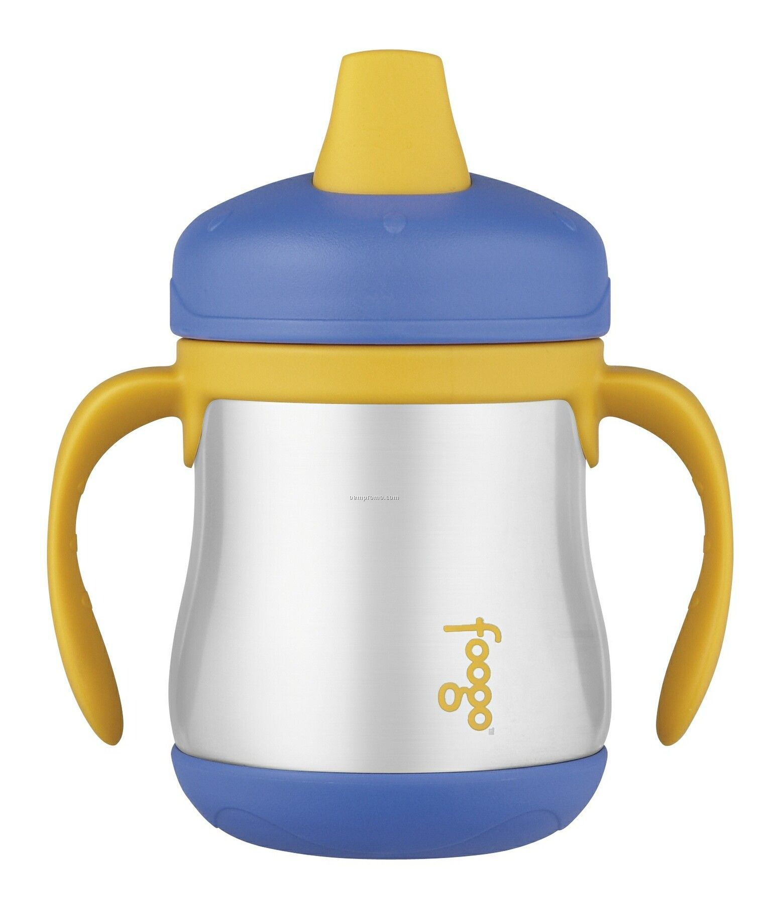 Foogo Pink Insulated Sippy Cup W/ Handles - Phase 1