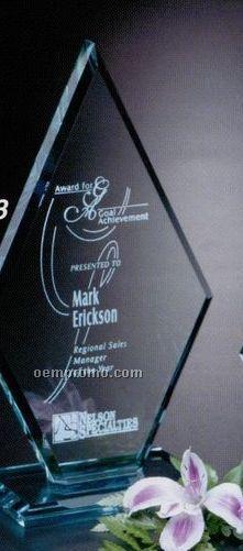 "Jade Gallery Crystal Premier Diamond Award (10"")"