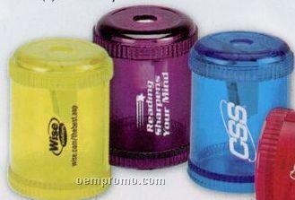 Round Translucent Pencil Sharpener