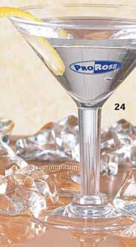 2 Oz. Plastic Mini Martini Glass