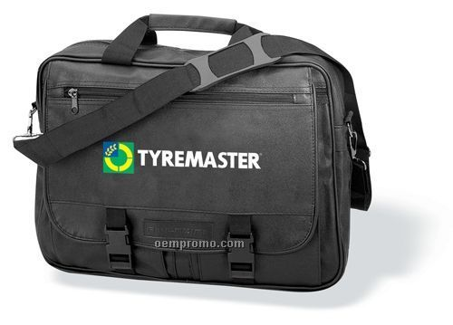 Entrepreneur Briefcase W/ Adjustable/Detachable Shoulder Strap