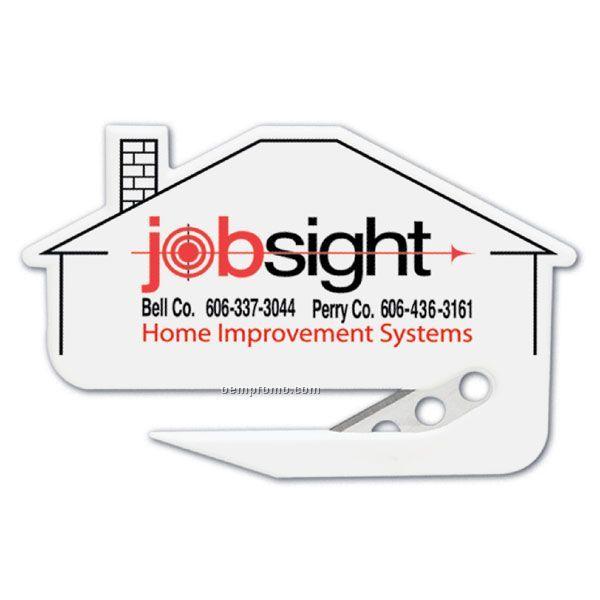 Letter Opener Shapes - House