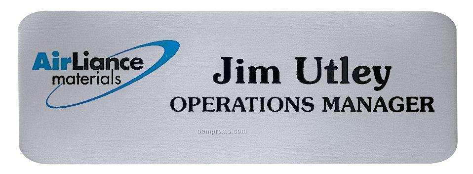 "The Aspen Metal Name Badge ( 3""X1""),China Wholesale The ..."