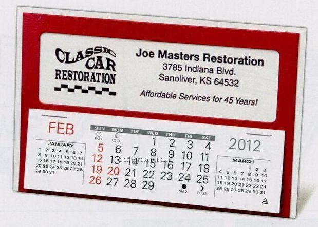 The Window Warwick Premier Desk Calendar (After April)