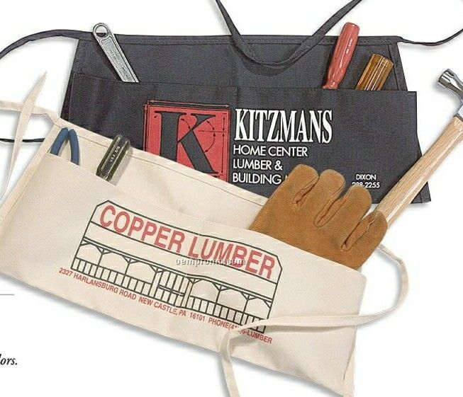 Heavyweight Canvas Carpenter Waist Apron