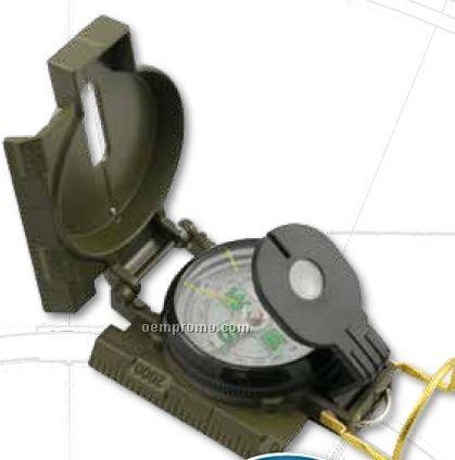 Lensamatic Compass W/ Metal Case