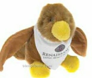 Stock Hawk Beanie Stuffed Animal