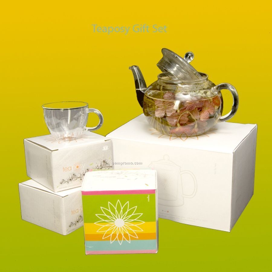 Teaposy Garden Tea Server Set - Service For Two