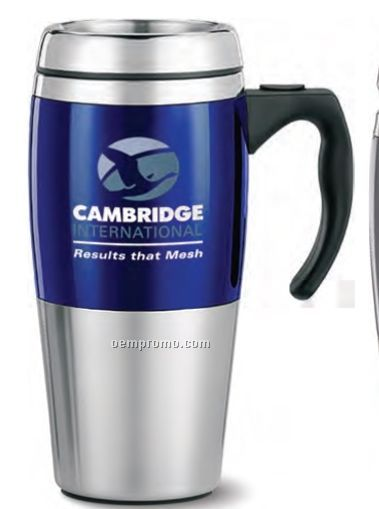 Travel Mug 14 Oz Ceramic Look Plastic Outer W Stainless Steel Interior China Wholesale