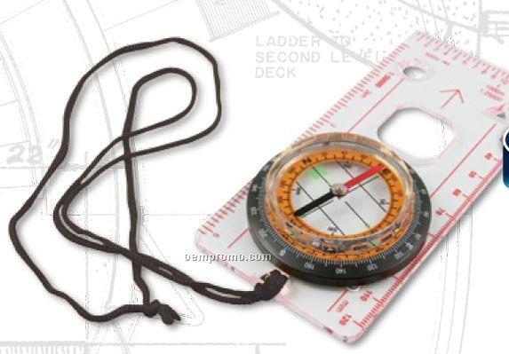 Acrylic Map Compass