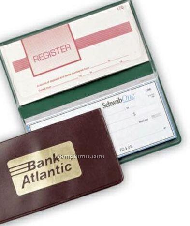Suedene Standard Checkbook/ Register Holder
