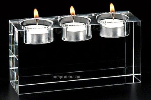 Triad Triple T Lite Candle Holder