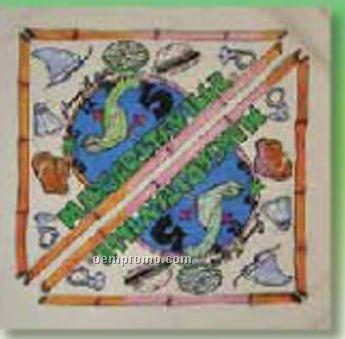 4 Color Process 60/40 Poly Cotton Bandanna