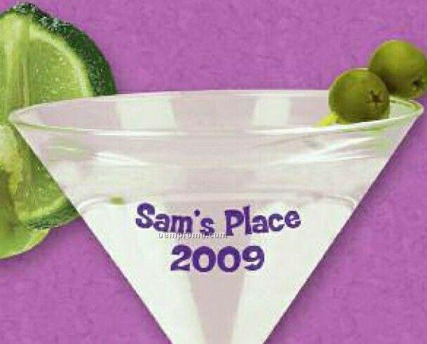 7 Oz. Acrylic Martini Glass