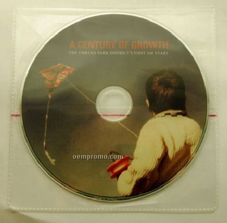 DVD Replication In Clear Plastic Sleeve (DVD 9)