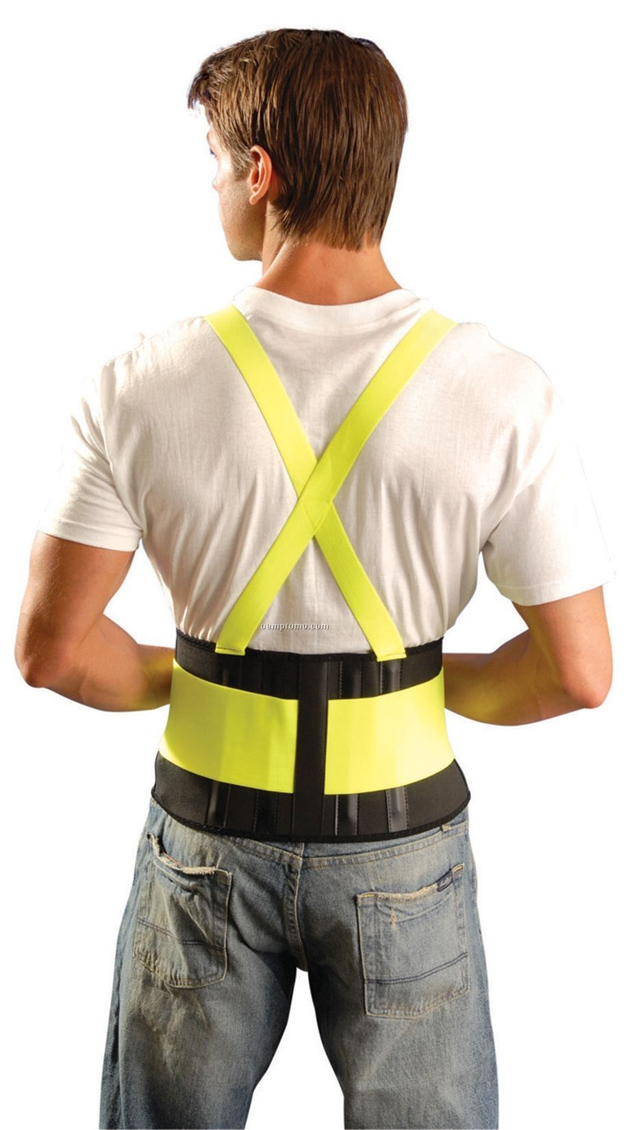Classic The Mustang Back Support - High Visibility