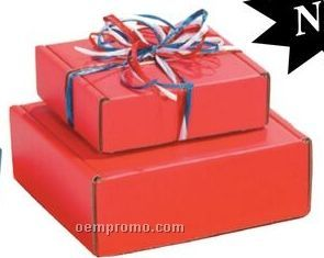 "Red Specialty Corrugated Packaging (12""X12""X4"")"