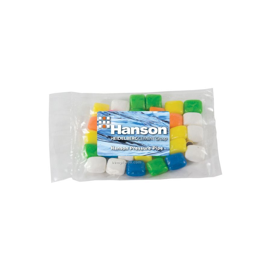 Small Promo Candy Pack With Gum